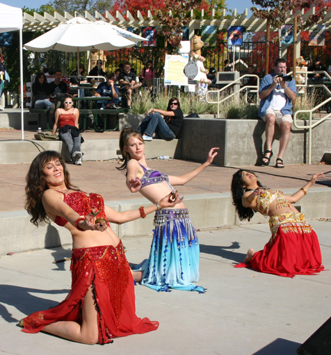 Sacramento's Eye of the Cobra Belly Dancers - Sierra College's Multicultural Day